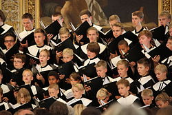 Cantores Minores concert, Helsinki Cathedral, 2013.jpg
