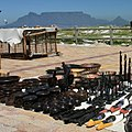 Cape Town - tourist goodies and Table Mountain (36427413580).jpg