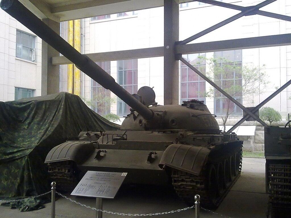 Captured T-62 tank