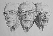 Portraits de Carl Rogers.