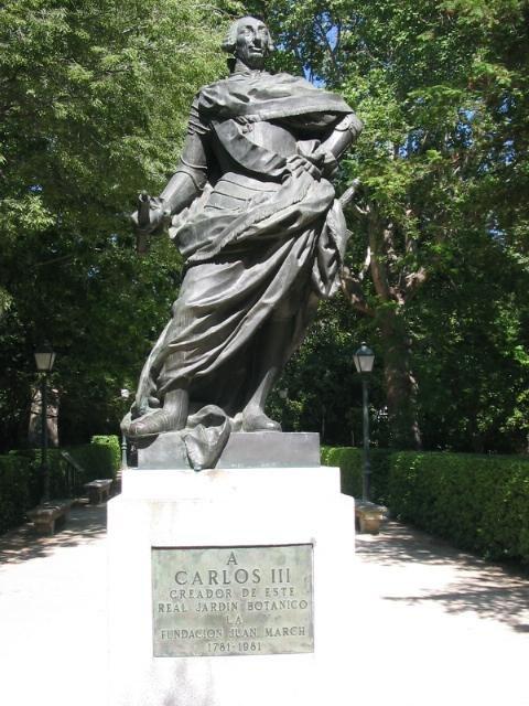 Carlos III Real Jardín Botánico de Madrid