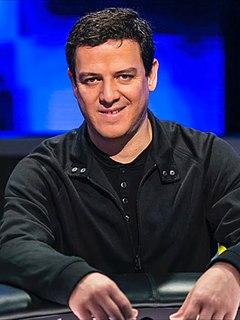 Carlos Mortensen Spanish poker player