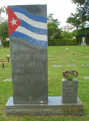 Carlos Prío Socarrás - Carlos Prío's grave