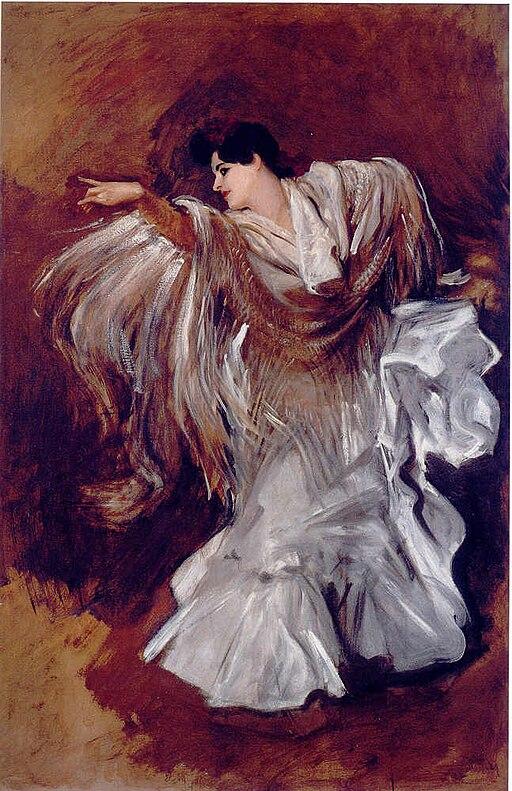 Carmencita Dauset-by J.Singer Sargent (1905)