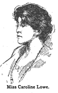 Caroline Lowe Canadian-American lawyer and activist