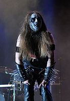 "Carpathian Forest, Roger ""Nattefrost"" Rasmussen at Party.San Metal Open Air 2013 10.jpg"