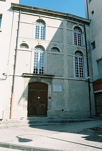 Ancient Diocese of Carpentras - The Synagogue of Carpentras