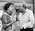 Carroll O'Connor Jean Stapleton Archie and Edith Bunker 1974.JPG