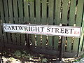 Cartwright Street sign, London - DSC06956.JPG