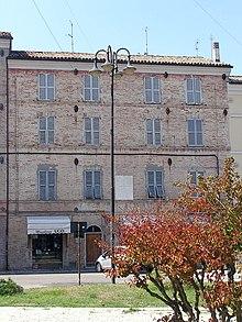 Chiaravalle (Ancona): la casa natale di Maria Montessori, ora sede della fondazione Montessori
