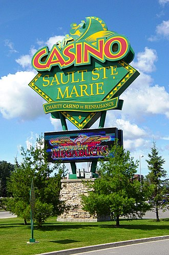Ontario Lottery and Gaming Corporation - Signage at OLG Casino Sault Ste. Marie