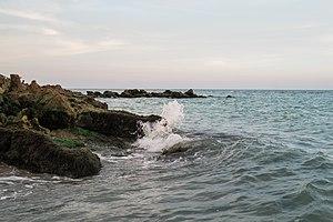 Venice, Florida - Caspersen Beach Park has hiking trails and a rocky beach