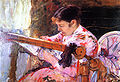 Cassatt Mary Lydia at the Tapestry Loom c. 1881.jpg