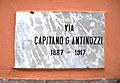 Castelfranco in Miscano (BN), 2011, Centro storico vecchie targhe stradali di epoca fascista. (2).jpg