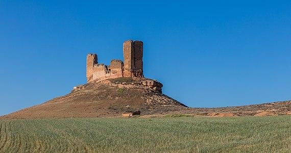 Casle of Montuenga, Montuenga de Soria, Soria, Spain.
