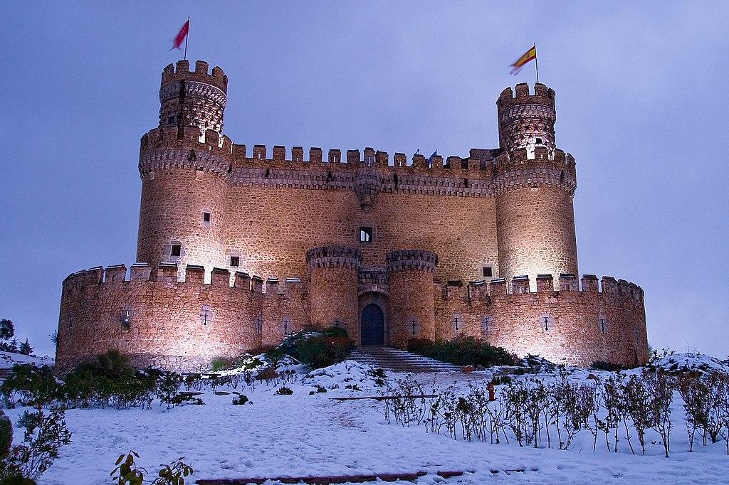Castillo de los Mendoza. Manzanres El Real