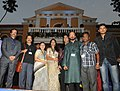 """Casting Crew of the Konkani film """"O Maria"""" on the Red Carpet during the 42nd International Film Festival of India (IFFI-2011), in Panaji, Goa on November 25, 2011. The Director, IFFI, Shri Shankar Mohan is also seen.jpg"""