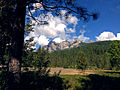 Castle Crags Seen From Interstate 5.JPG