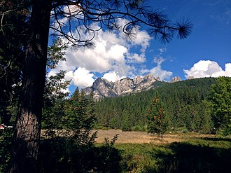 Castle Crags - Seen from Interstate 5