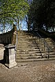 Catacomb columbarium City of London Cemetery, south steps 1.jpg