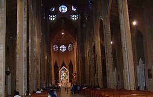 St. Mary of the Assumption Cathedral (Chilpancingo) - Internal view