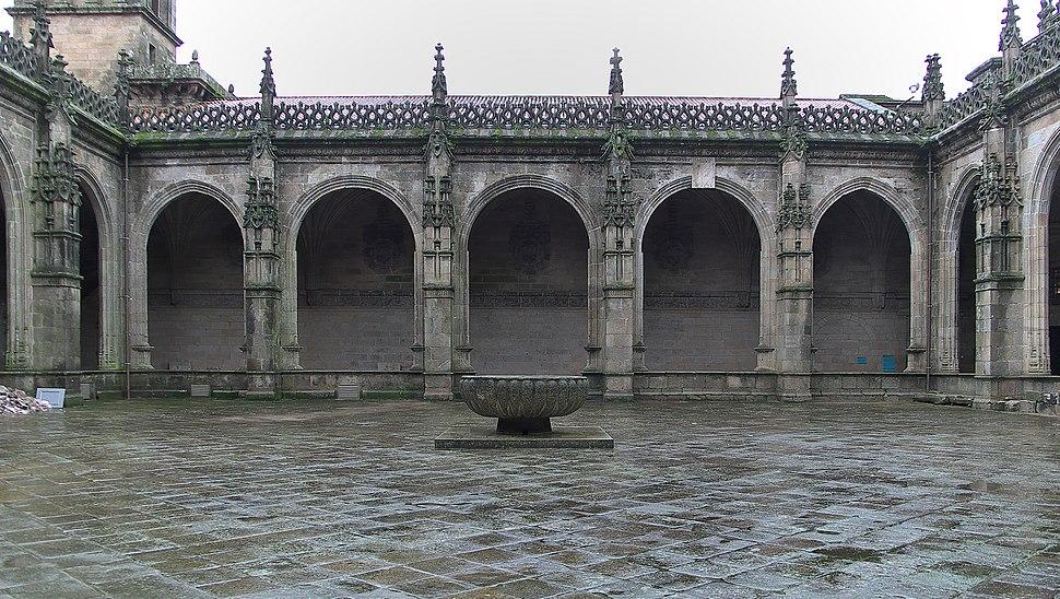 Catedral de Santiago. Claustro