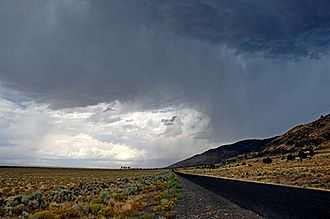 High Desert Discovery Scenic Byway - Image: Catlow Valley (Harney County, Oregon scenic images) (har DA0170)