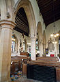 Caythorpe St Vincent - North arcade from nave.jpg