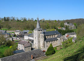Image illustrative de l'article Collégiale Saint-Hadelin de Celles