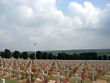 Vojenský hřbitov u Verdunu