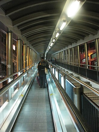 Chungking Express - Central–Mid-levels escalators