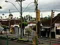 Centro de Documentação da II Guerra Mundial Cap. Enfermeira FEB Altamira Pereira Valadares. Vista de outro local histórico de Batatais, a Igreja Matriz do Senhor da Cana Verde, com os quadros pintados po - panoramio.jpg