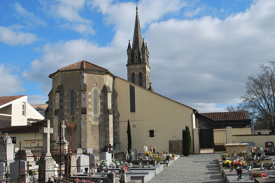 Église Saint-André, Cestas