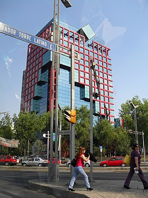 Comisión Federal de Electricidad - The CFE building in Mexico City