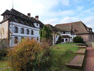 Northern Vosges Regional Nature Park - Image: Château de La Petite Pierre (2)