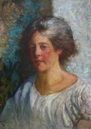 Emma Chadwick - Emma Löwstädt-Chadwick; portrait by her husband