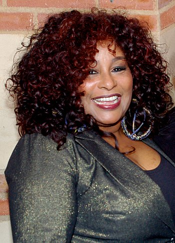 English: Chaka Khan at a performance of The Ho...