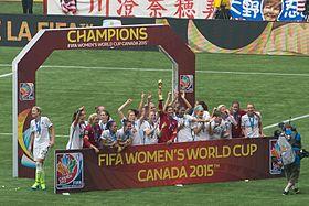Finale de la coupe du monde f minine de football 2015 wikip dia - Coupe du monde de football 2015 ...