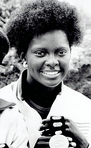 Chandra Cheeseborough - Cheeseborough at the 1975 Pan American Games