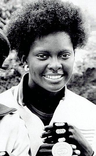 Chandra Cheeseborough - Cheeseborough at the 1975 Pan American Games