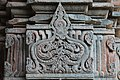 Chandramouleshwar Temple, Artistic cuttings at one of the frame of door entrance carved in Chalukya style.jpg