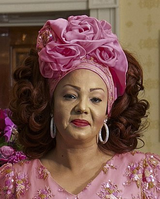 Chantal Biya - Image: Chantal Biya 2014 (cropped)