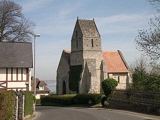 Cricquebœuf Commune in Normandy, France