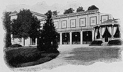 Le casino de Charbonnières.