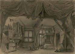 Charles-Antoine Cambon - La Esmeralda, Act 3, Scene 2 set.jpg