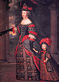 Charles Beaubrun María Teresa de Austria y el Gran Delfín.jpg