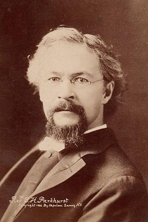 Charles Henry Parkhurst - Parkhurst in 1892