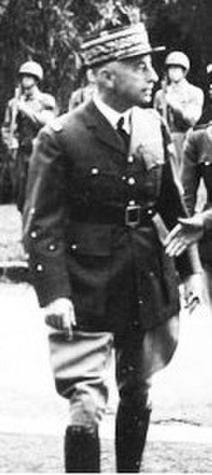 Charles Noguès - Noguès, wearing the five stars of a General d'Armée