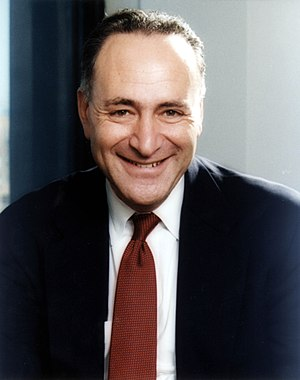 United States Senate election in New York, 1998 - Image: Charles Schumer official portrait