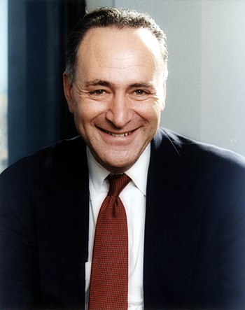 English: Charles Schumer, United States Senato...